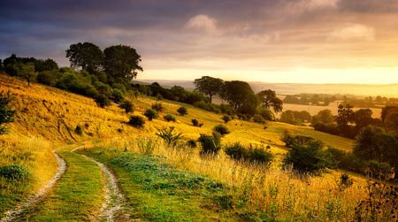 Hertfordshire countryside at dawn.our-photography