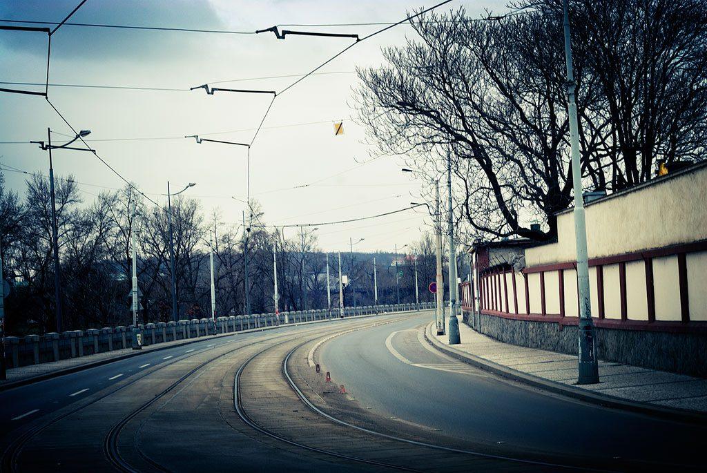 Road in Prague