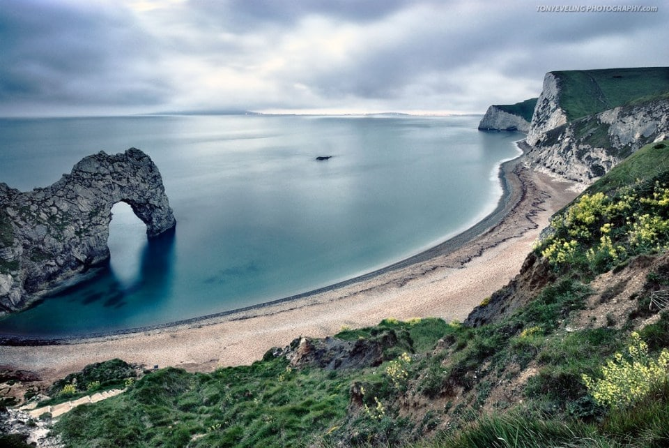 Durdle Door, natural rock formation along the Dorset coast, England, UK
