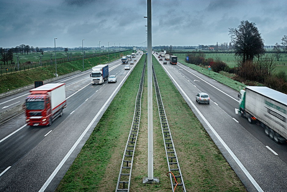 A motorway in Holland