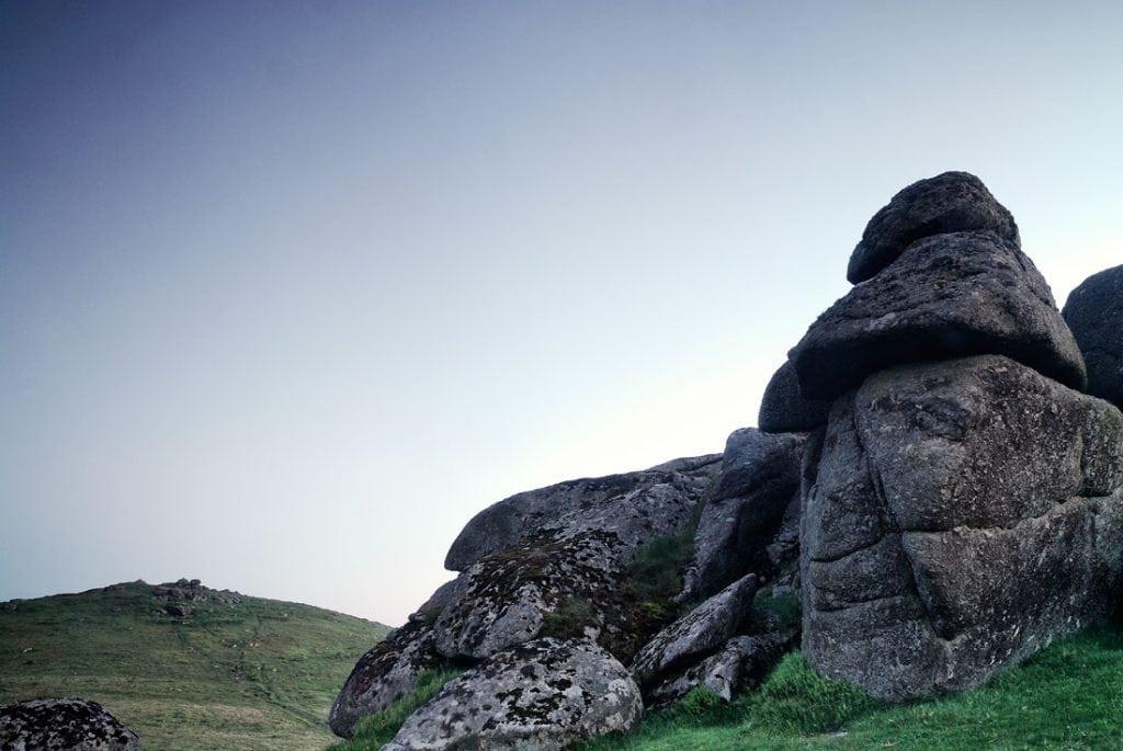 Honeybag Tor, Dartmoor national park,dartmoor,devon,england,uk