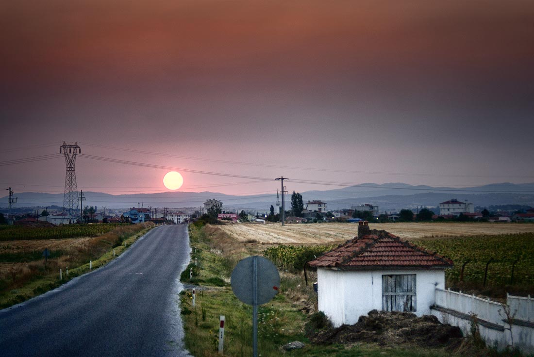 Sunrise over Turkey