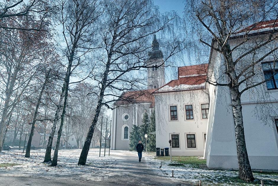 Small town in Croatia