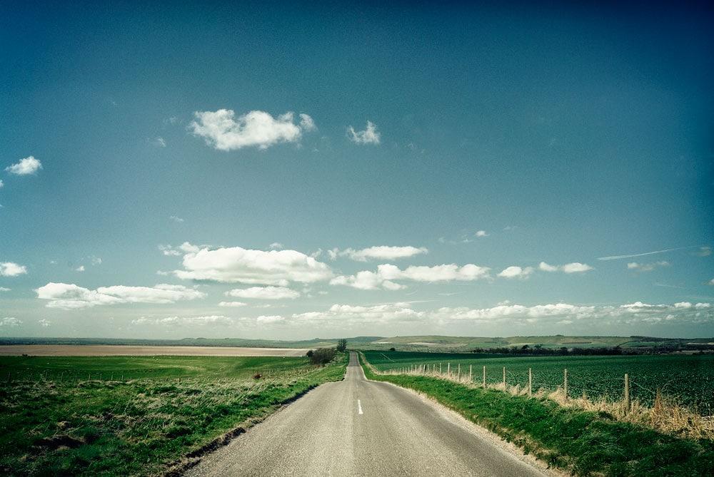 Country road in Wiltshire, near salisbury,wiltshire,england,uk