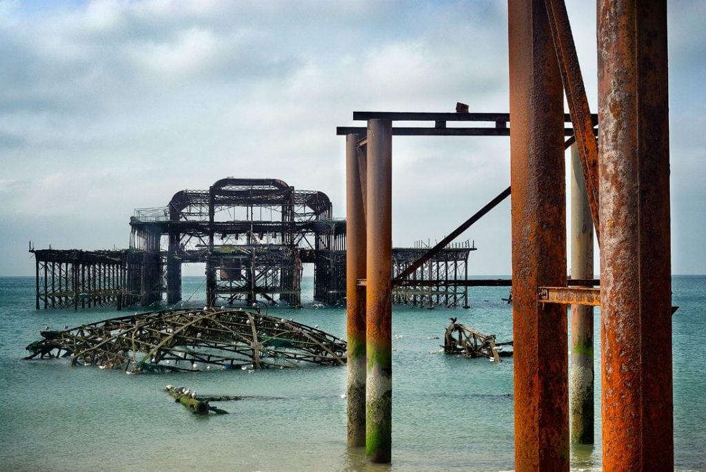 West Pier, Brighton,West sussex,england,uk
