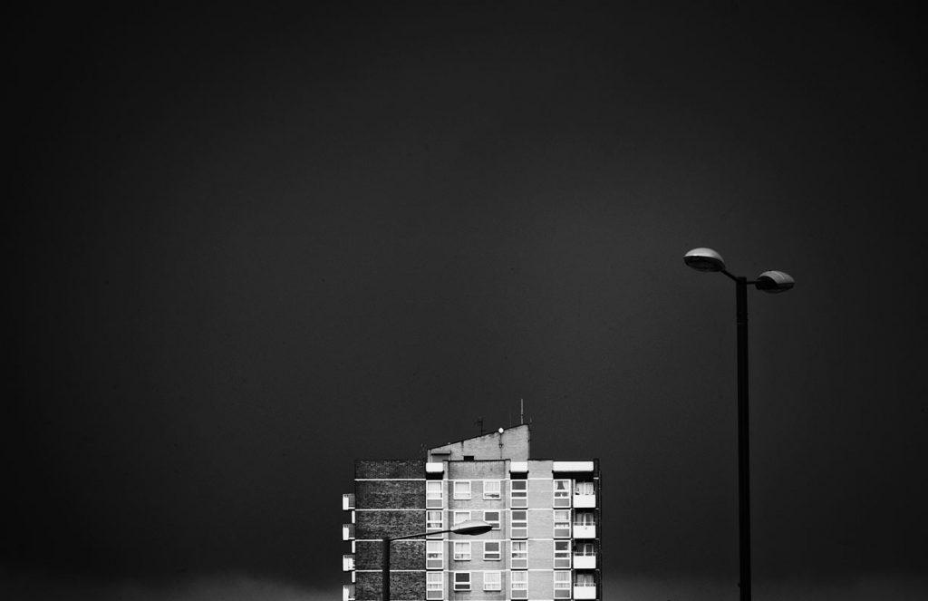 Apartment block, Kent, England, UK
