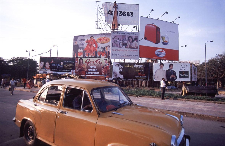 Ambassador taxi in Kolkata, Wext Bengal, India
