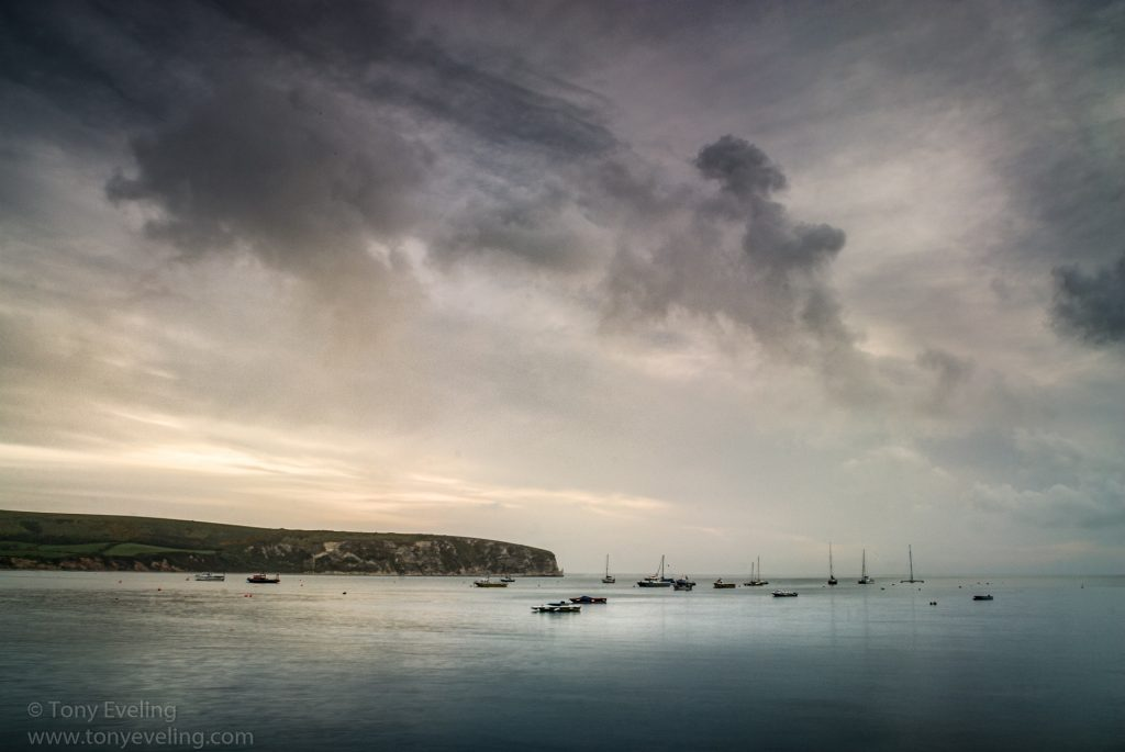 Photograph of Swanage bay in dorset